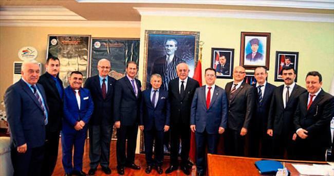 Başkan Seyfi Dingil iş dünyasını ağırladı