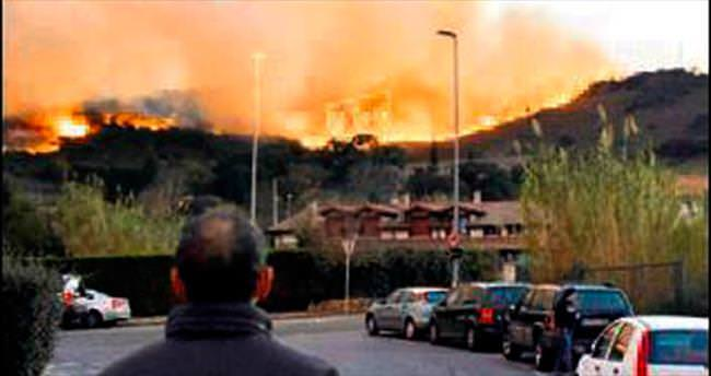 İspanya günlerdir sıcaktan yanıyor