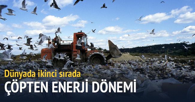 266 bin haneye çöpten elektrik
