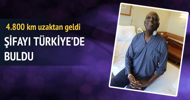 Türkiye'de felçten kurtuldu