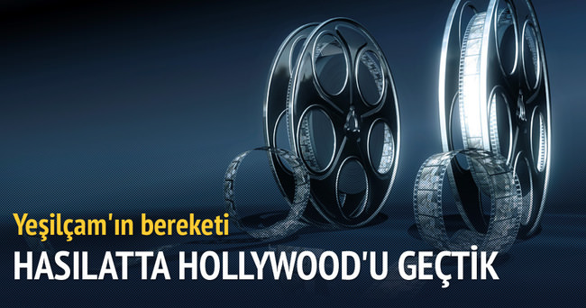 Yeşilçam hasılatta Hollywood'u geçti
