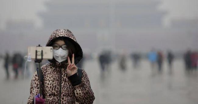 Çin'de hava kirliliği: Sarı alarm verildi
