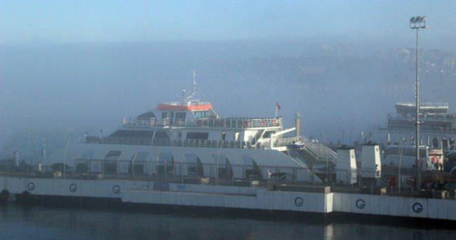 Boğaz'da ulaşıma sis engeli