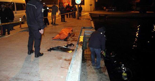 Otomobil denize uçtu: 1 ölü
