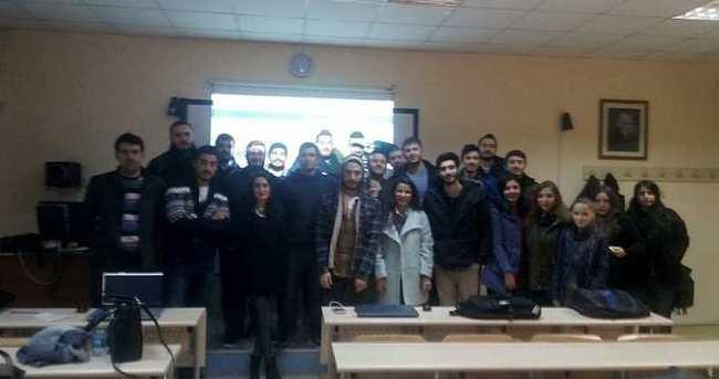 Üniversiteli gençlerden yerli sosyal ağ