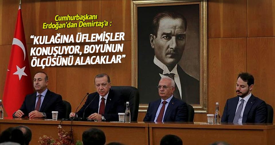 Erdoğan: Ele saz almakla, Nişantaşı'nda tur atmakla Türkiye partisi olunmaz