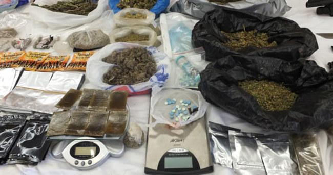 Denizli merkezli uyuşturucu operasyonu