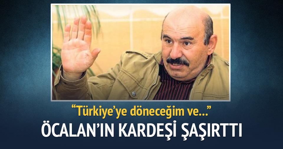 Öcalan'ın kardeşi: Siyasi parti kurma fikrim var