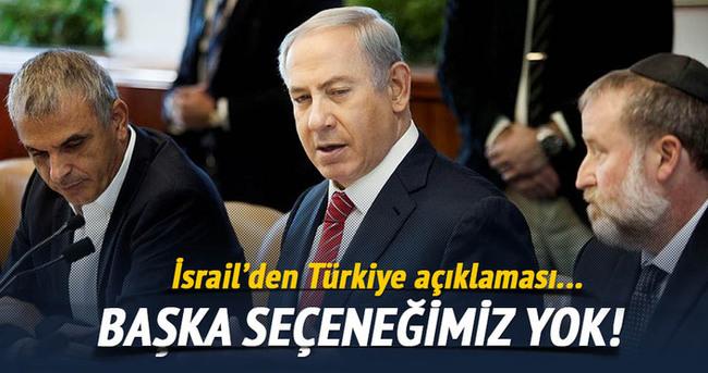 Türkiye ile anlaşmaktan başka seçeneğimiz yok