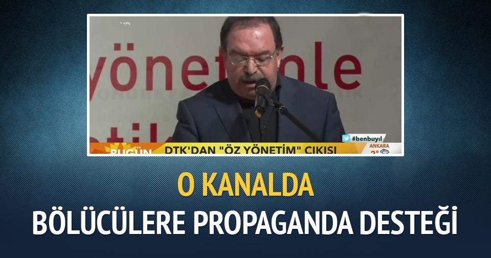Şahenk'in kanalından bölücülere propaganda desteği