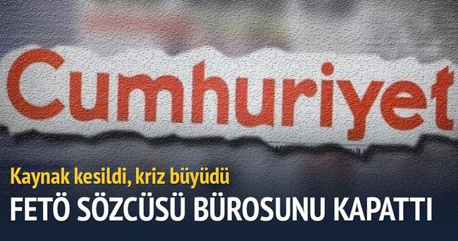 FETÖ sözcüsü İzmir bürosunu kapattı