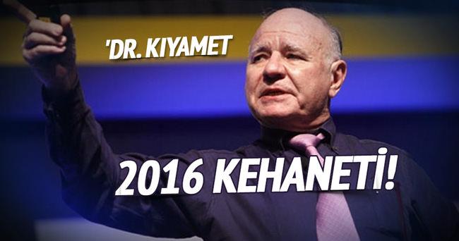 'Dr. Kıyamet'ten 2016 kehaneti