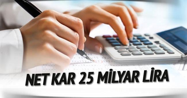 Bankacılık sektörü net karı Kasım'da 23 milyar lira