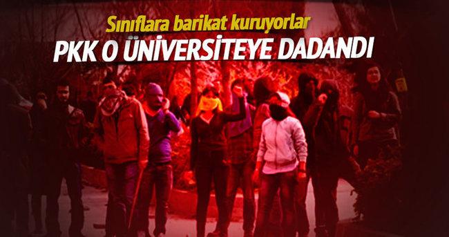 PKK o üniversiteye dadandı