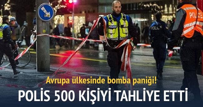 İsviçre'de bomba paniği