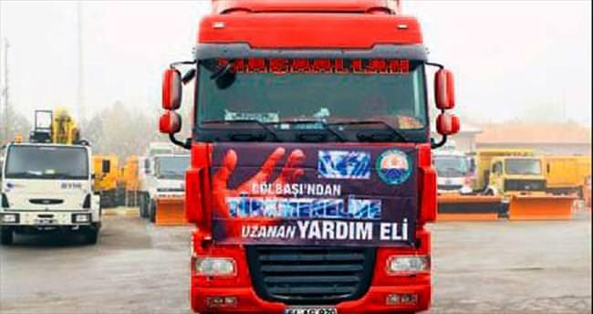 Türkmenlere 4 bin battaniye