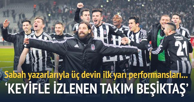 Keyifle izlenen takım Beşiktaş