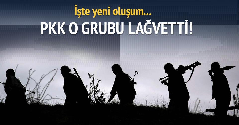 PKK o grubu lağvetti: İşte yeni oluşum