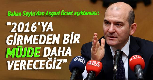 Bakan Soylu'dan Asgari Ücret açıklaması