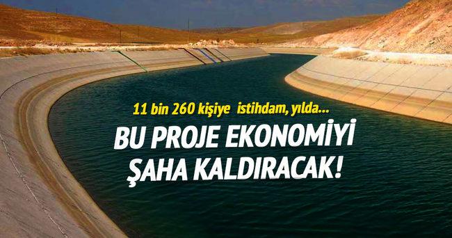 Demirözü Sulama Projesi'nden ekonomiye büyük katkı