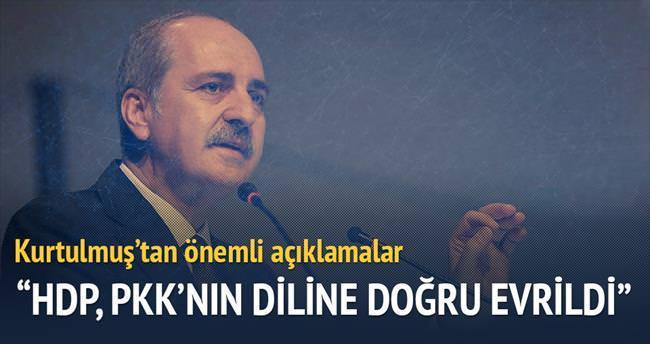 HDP, PKK'nın diline doğru evrildi