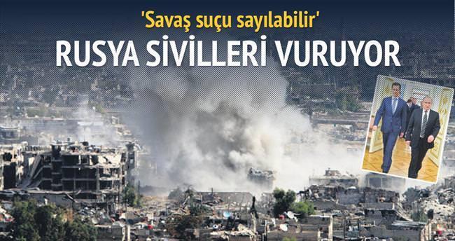Rusya, Suriye'de 792 sivili öldürdü