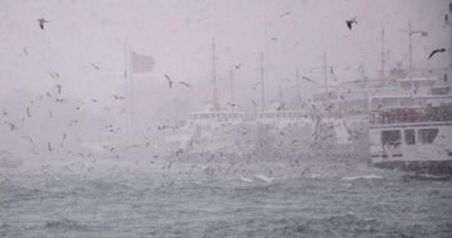 İstanbul'da deniz ulaşımına tipi engeli
