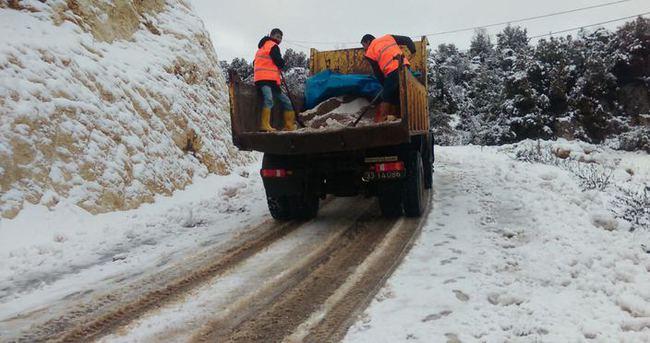Kar yağdığında yollara neden tuz dökülür
