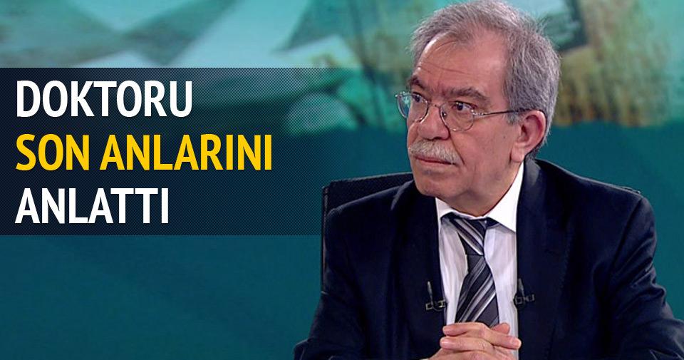 Gazeteci Hasan Karakaya'nın son anları
