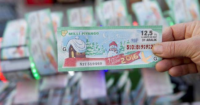 Yılbaşı 2016 Milli Piyango bilet no sorgulama