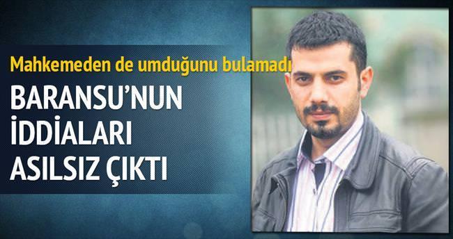 Mehmet Baransu'nun şikâyetçi olduğu üç jandarmaya beraat...