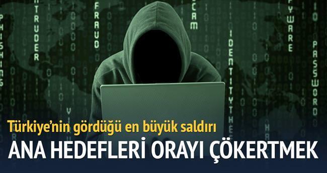Siber saldırıların ana hedefi ulusal sistem