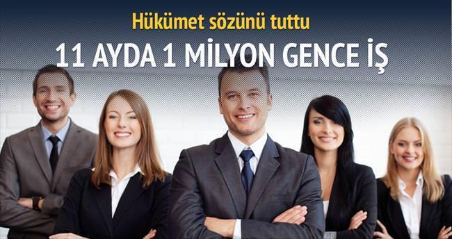 1 milyon gence istihdam