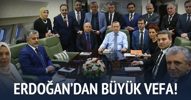 Erdoğan'dan Karakaya'ya büyük vefa