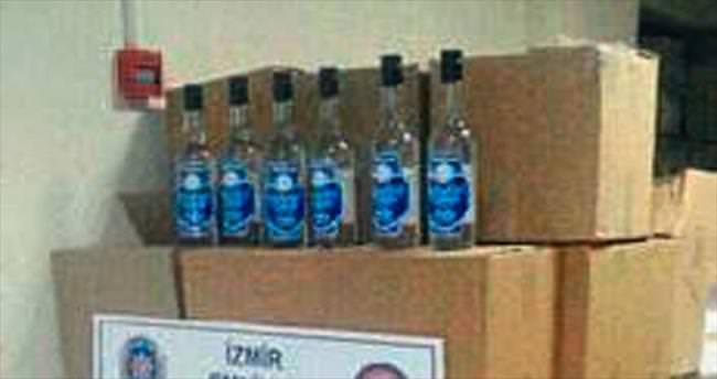 Bornova ve Çeşme'de kaçak içki denetimleri