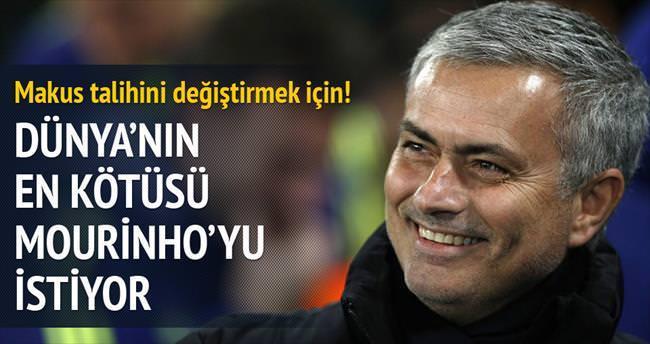 'Dünyanın en kötüsü' Mourinho'yu istiyor!