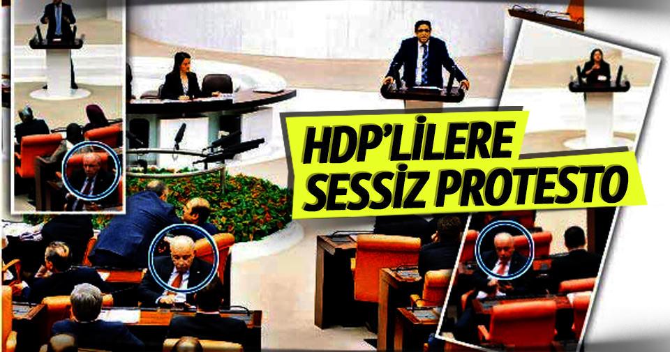 HDP'lilere sessiz protesto