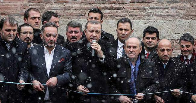 Cumhurbaşkanı Erdoğan,Hilye ve Tesbih Müzesi'nin açılışını yaptı