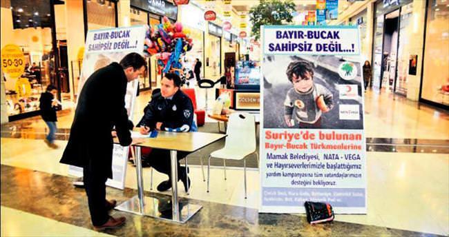 Bayırbucak Türkmenleri için başkentliler seferber oldu