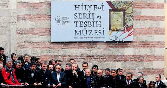 Cumhurbaşkanı Erdoğan kar altında müze açtı