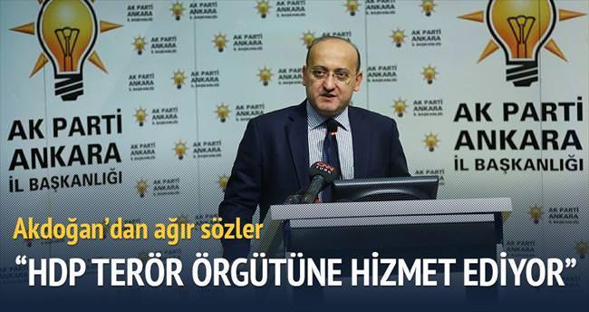 Akdoğan: Darbe anayasası Türkiye'ye yakışmıyor