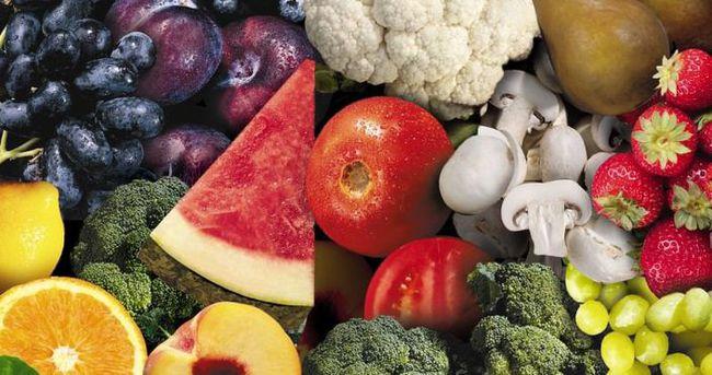 Kansere karşı sebze ve meyve önerisi