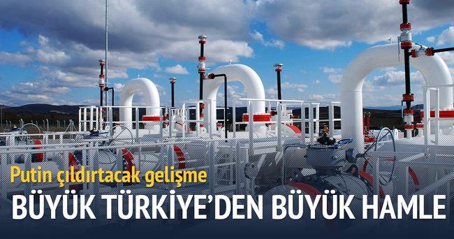 Doğalgaz Türkiye üzerinden dünyaya açılacak
