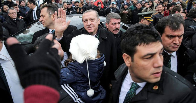 Cumhurbaşkanı Erdoğan, yeğeninin nikah törenine katıldı