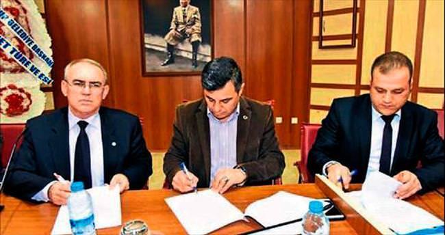 Anamur Belediyesi'nde toplu sözleşme