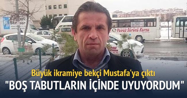 Büyük ikramiye bekçi Mustafa'ya çıktı