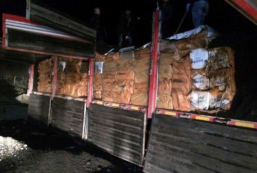 Batman'da 138 bin paket kaçak sigara ele geçirildi