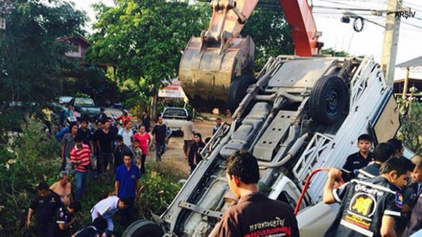 Tayland'da kanlı yılbaşı: 340 ölü, 3216 yaralı