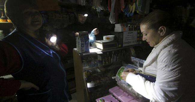 Kırım'da ısınma noktaları oluşturuldu