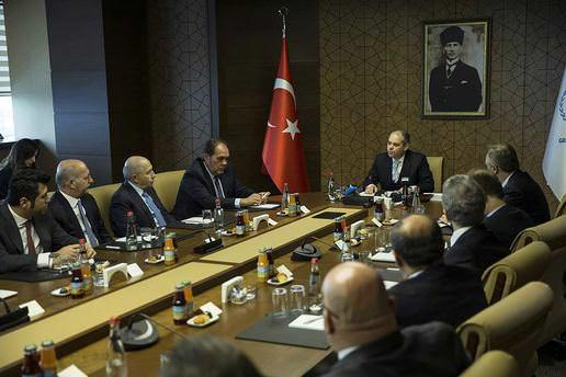 Bakan Kılıç, kulüp başkanlarını kabul etti